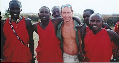 Ronnie Layden in Africa