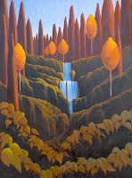 """Santa Fe Waterfall"" Ronnie Layden"