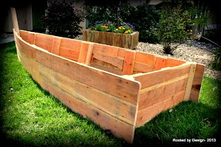 Boat Planter Or Sandbox Rooted By Design