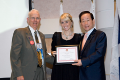 RI President DK Lee, Award Presentation, Recognition of Outstanding Rotaract Projects