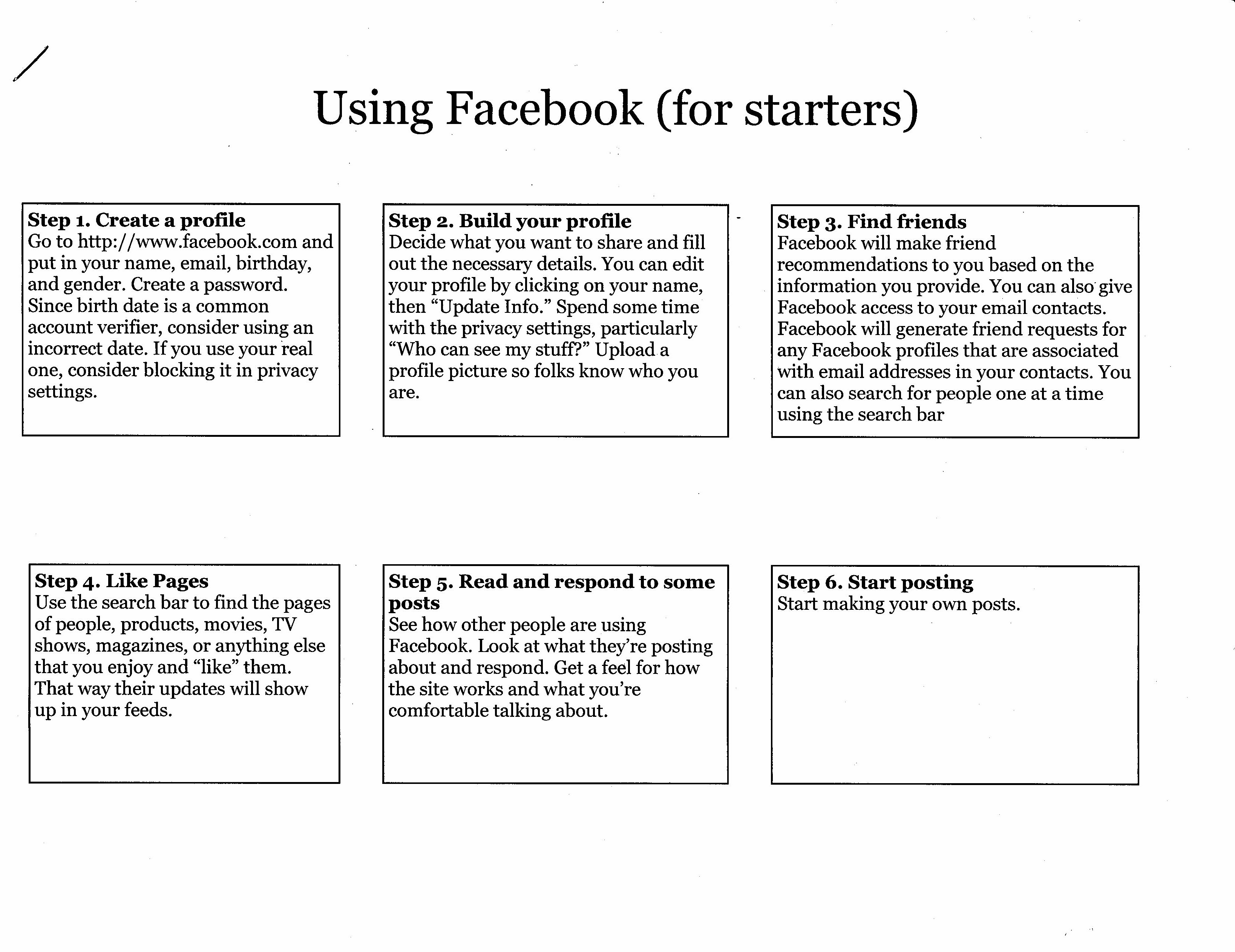 INTRODUCTION TO FACEBOOK - By Phil Barott - ROWLETT NEWSLETTER