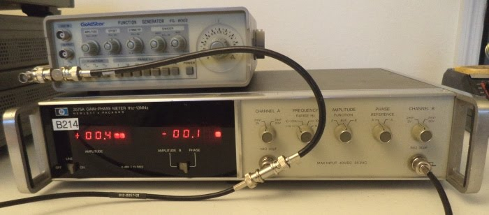 HP 3575A Gain Phase Meter - Switchmode Power, Simulation