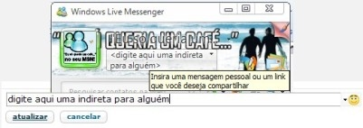 Nicks MSN e Orkut