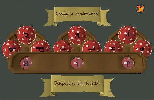 fairiringsteleports - runescapecr