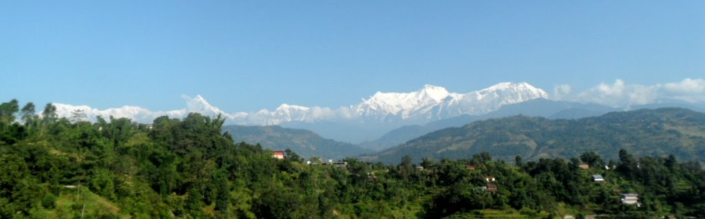 Annapurna Range seen from Guest House