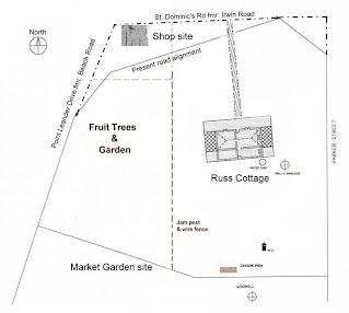 Russ Cottage Site Map