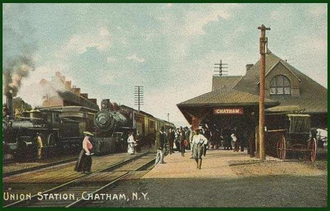 Chatham Station... New York, This Was The Last Stop On Rutlands' Corkscrew Run... Click Here To View The Interactive History Map And Enjoy Your Trip...!