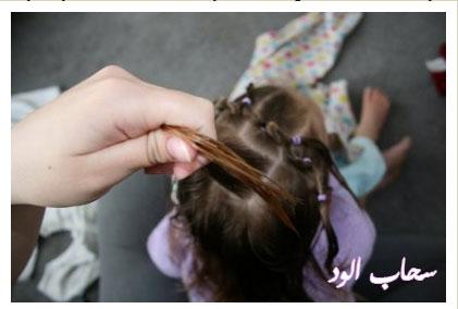 تعلمي كيفية عمل اروع التسريحات لطفلتك بالخطوات المصورة hait-nott11.jpg