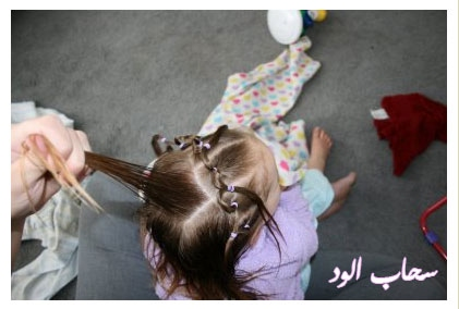 تعلمي كيفية عمل اروع التسريحات لطفلتك بالخطوات المصورة hait-nott12.jpg