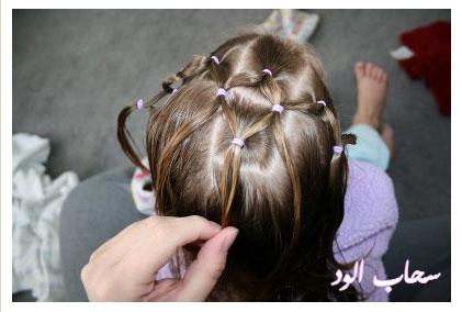 تعلمي كيفية عمل اروع التسريحات لطفلتك بالخطوات المصورة hait-nott14.jpg