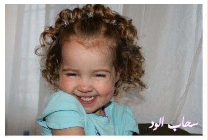 تعلمي كيفية عمل اروع التسريحات لطفلتك بالخطوات المصورة rag-curls12.jpg