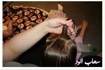 تعلمي كيفية عمل اروع التسريحات لطفلتك بالخطوات المصورة rag-curls3.jpg