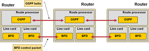 BIDIRECTIONAL FORWARDING DETECTION (BFD) - 想