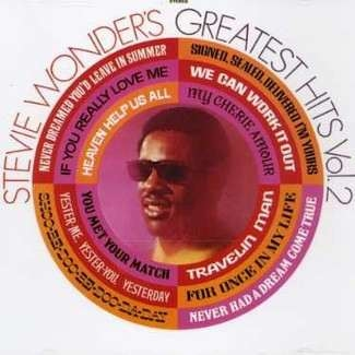 STEVIE WONDER - Greatest Hits, Vol. 2 Cd
