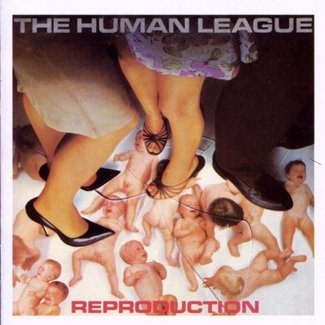 HUMAN LEAGUE - Reproduction Cd Album