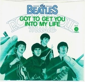 "Got To Get You Into My Life / Helter Skelter 7"" - BEATLES"