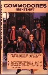 COMMODORES - Nightshift Cassette