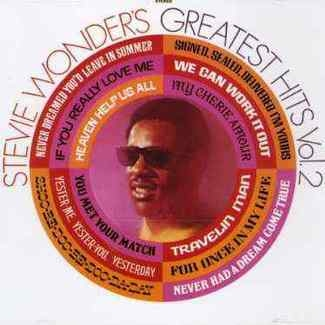 STEVIE WONDER - Greatest Hits Vol. 2 Cd