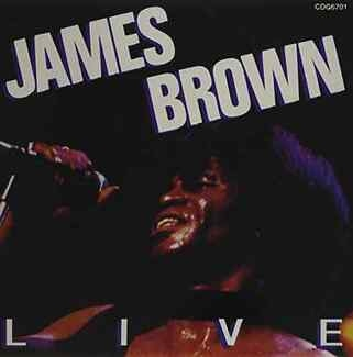 JAMES BROWN - Live Cd