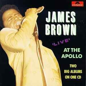 JAMES BROWN - Live At The Apollo Cd
