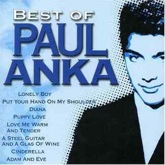 PAUL ANKA - Best Of Paul Anka Cd