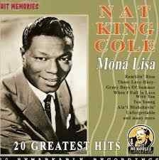 NAT KING COLE - Mona Lisa Cd