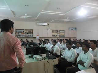 A guest lecture at Brijlal  Biyani Science College, Amravati on  'Carrier Opportunity after Graduation'