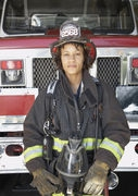 آتش نشان زن