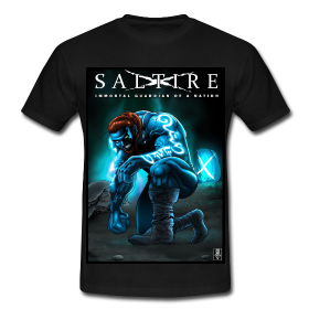saltire, superhero, scotland, invasion, tshirts