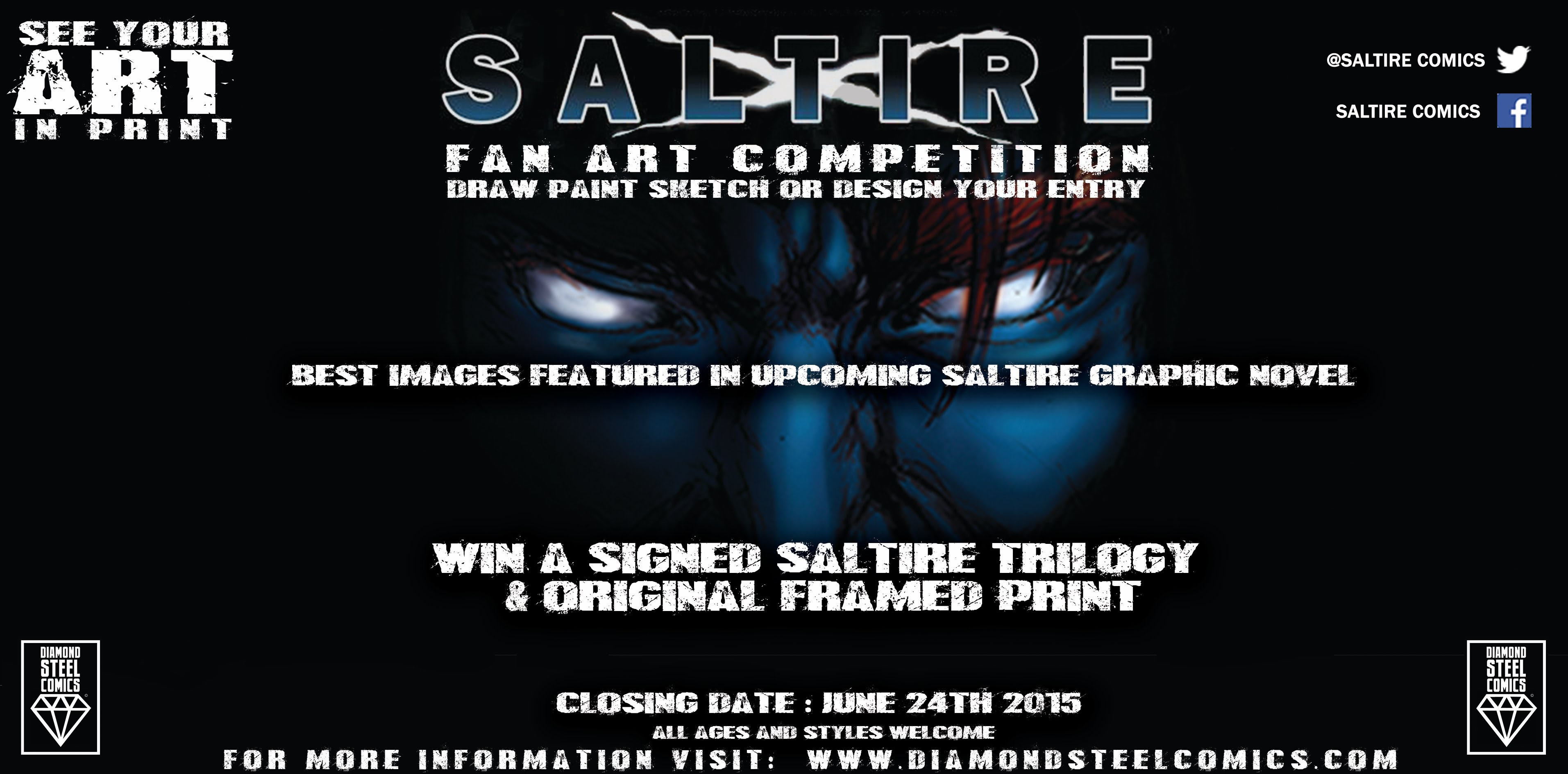 scotland saltire fan art competition