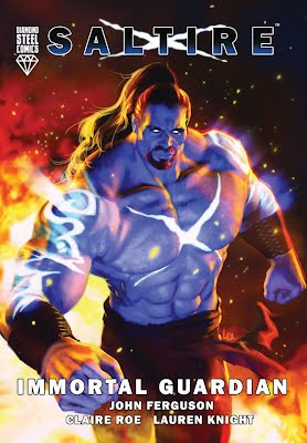 Saltire superhero comics book scotland