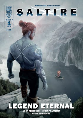 Saltire Scotland superhero comics scottish