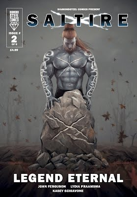 Saltire superhero scottish scotland comics