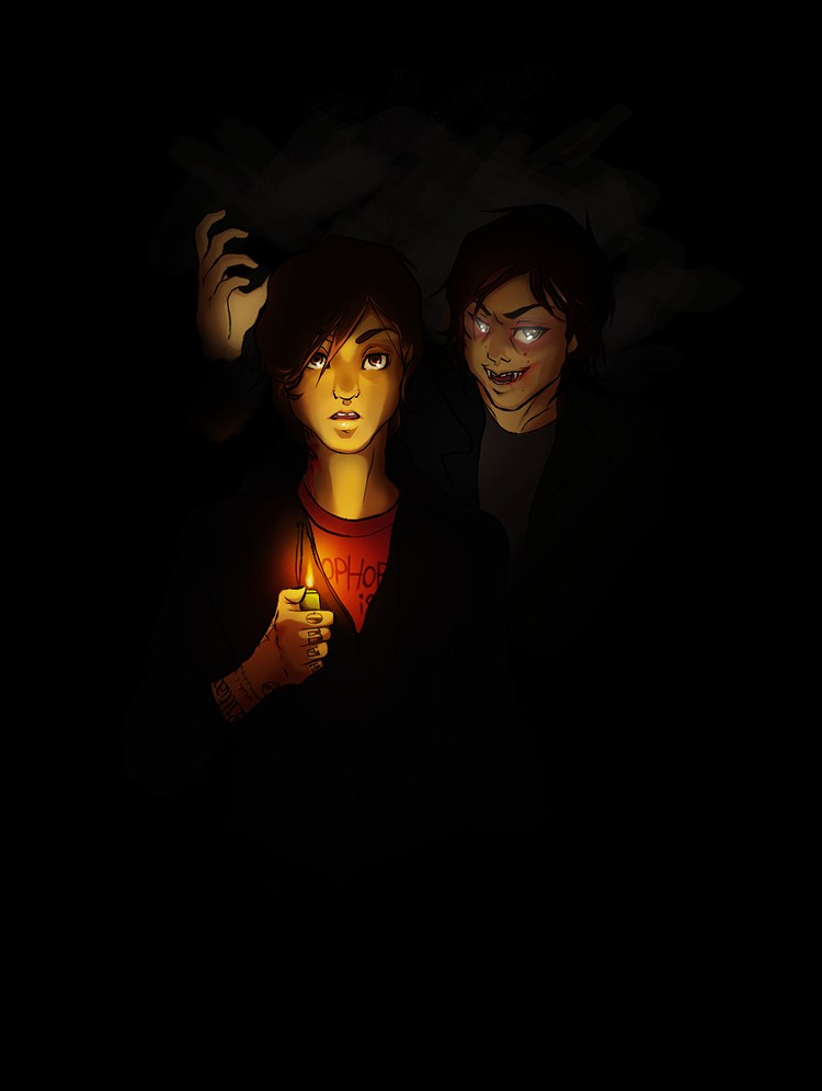 All The Wicked Shadows art by cheerfortyranny