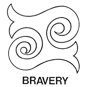 The Word Courageous additionally Zodiac further Crop Circle Predicts Coin Unity In additionally Indian Warrior Logo as well Bravery Sy. on symbol for brave
