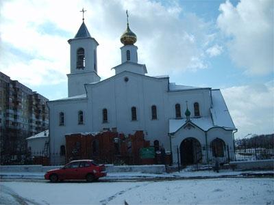 Свято-Георгиевский православный храм.
