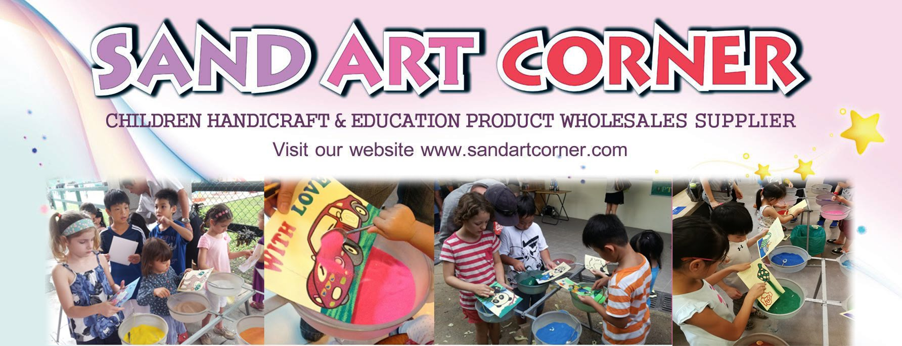Sand Art Kids Craft Wholesaler Supplier In Penang Malaysia