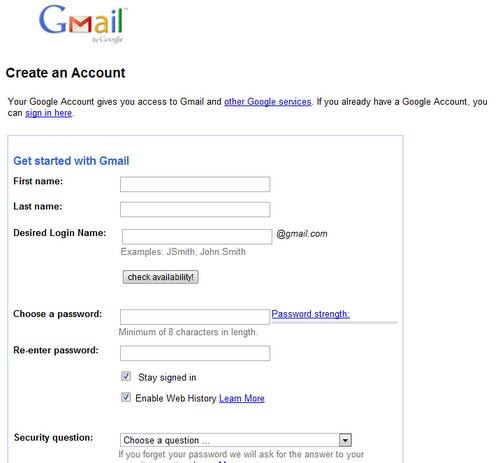 gmail account - 717×592
