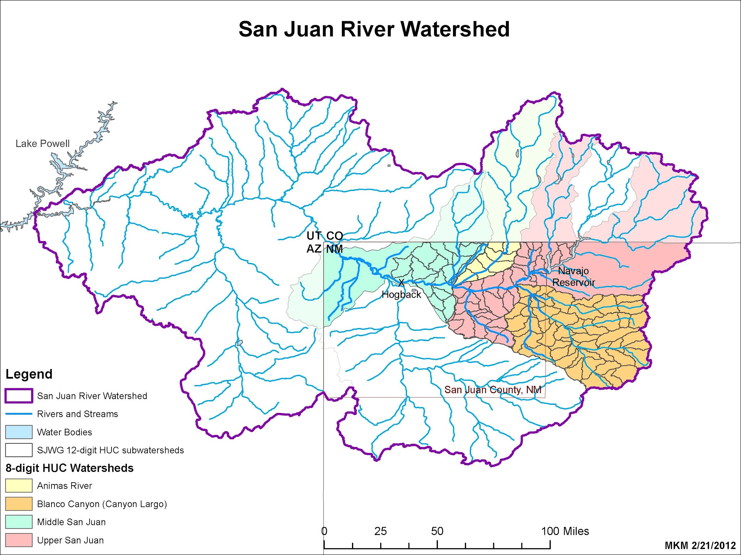 Watershed Map - San Juan Watershed Group on virgin river, colorado map, fraser river, new mexico map, gunnison river, canadian river map, arkansas river, sevier river map, the missouri river map, dirty devil river, san juan mountains, blue river, monument valley map, platte river map, rio grande, colorado river, snake river map, green river, yampa river, glen canyon, flaming gorge reservoir, yellowstone national park map, lake powell, san lorenzo river map, rio blanco map, san bernard river map, nicaragua river map, verde river, the seine river map, san juan county, arizona map, usa river map, gila river, animas river, valley of the gods, arkansas river map, charleston sc river map, blue mesa reservoir, costa rica map, grand canyon map,