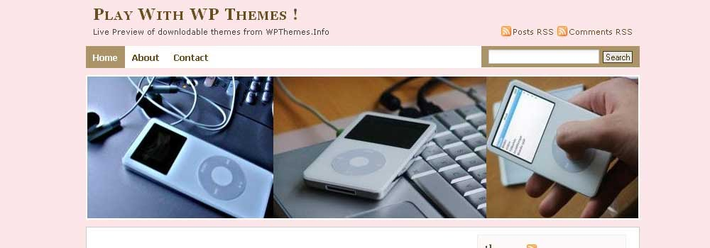 Free iLoveMusic Wordpress Theme