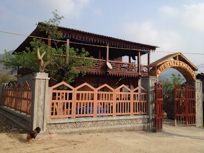 View of front of Heavenly Homestay