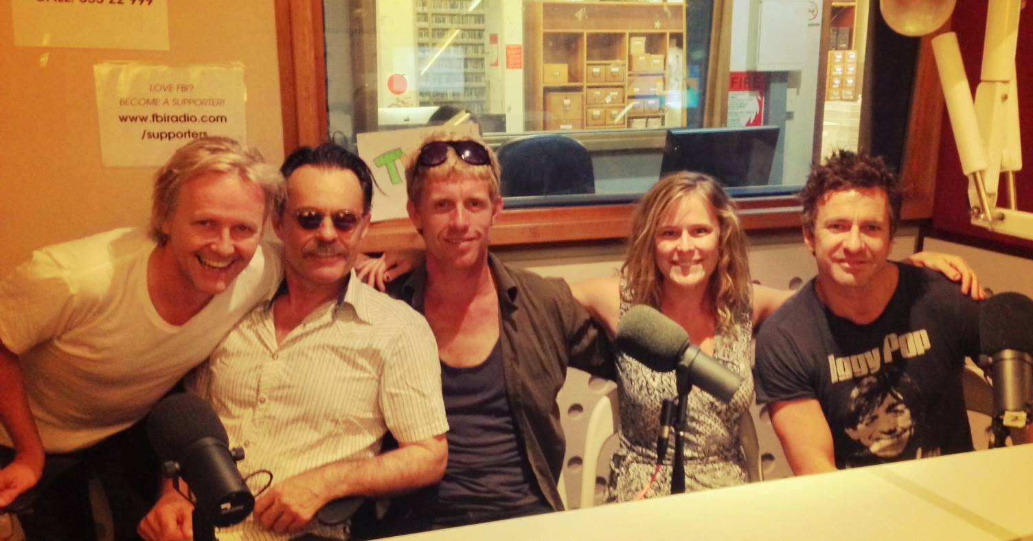 Fbi Radio interview - Simon Lyndon, Sarah Doyle, Damian de Montemas