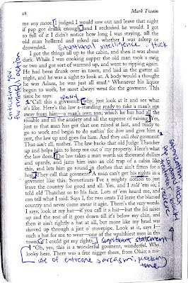 Annotations satireintheworld2013 the adventures of huckleberry finn new york barnes noble books 2003 print ccuart Image collections