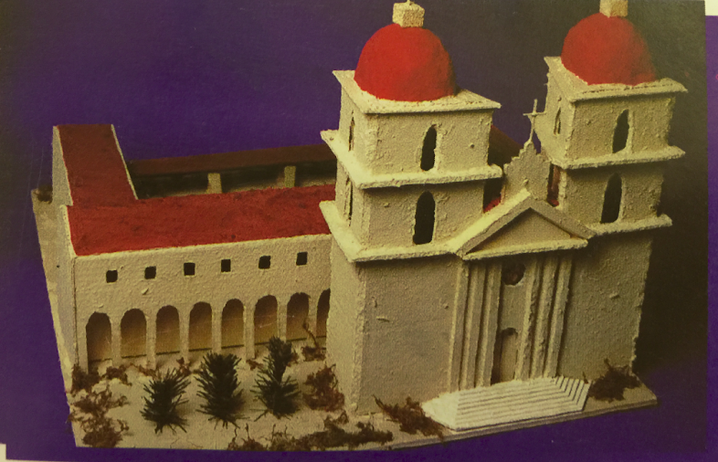 How To Build A Model Santa Barbara Queen Of The Missions