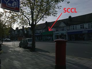 SCCL from Chingford Mount Traffic Lights