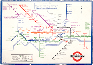 Harry Beck's 1933 London Tube Map