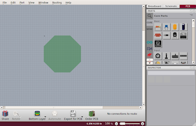 Fritzing custom shape PCB with Inkscape - Science DIY