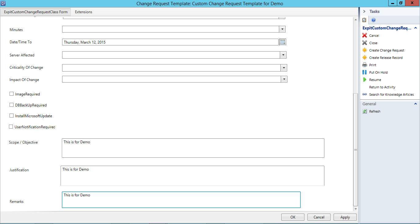 Creating Custom Tasks in Service Manager - SCOM Blogs