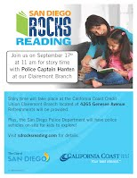 California Coast Credit Union Locations >> California Coast Credit Union Hosting Sd Rocks Reading On