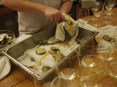 oyster wine pairing research